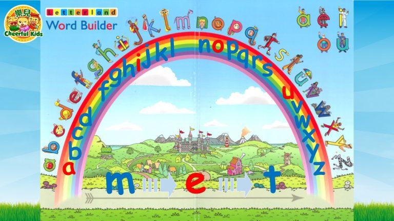 Letterland-magnetic-word-builder