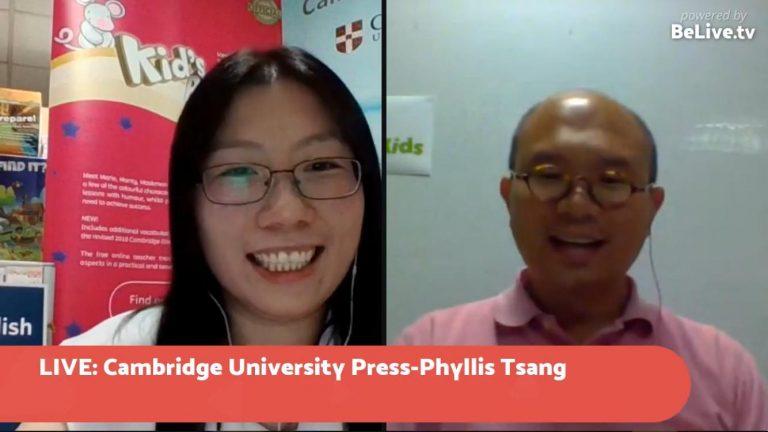 Cambridge University Press [直播訪問]
